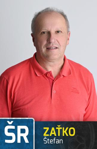 Športový  a dočasný hlavný tréner - Štefan Zaťko