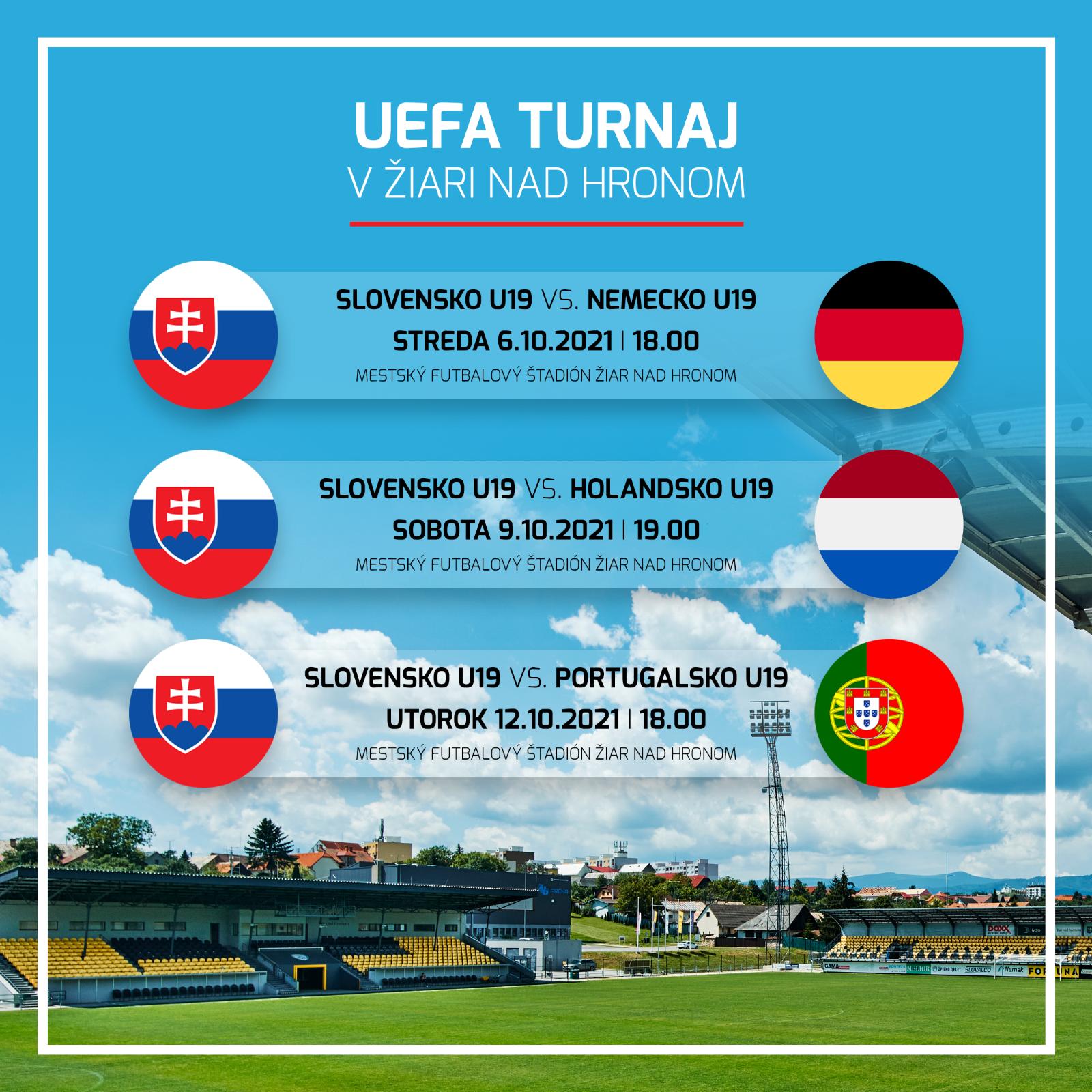Medzinárodný turnaj UEFA na našom štadióne