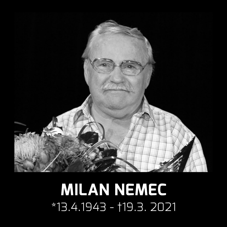 Zomrel legendárny mládežnícky tréner Milan Nemec
