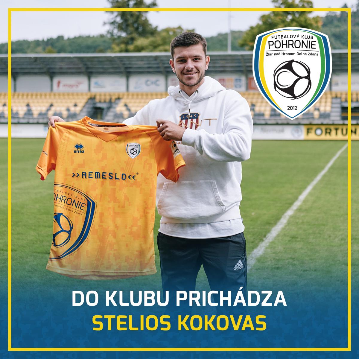 Do tímu pribudol grécky defenzívny univerzál Stelios Kokovas