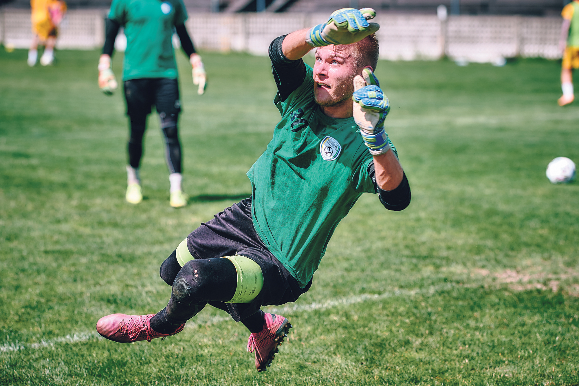 Samuel Dovec začínal sezónu ako brankárska trojka. Premiéru vo Fortuna lige si odbil proti Spartaku Trnava