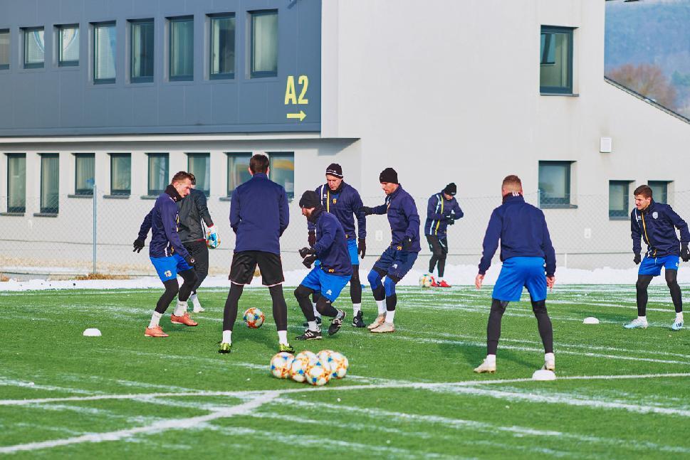 obr: Harmonogram tréningov družstiev FK Pohronie od 6.1.2020 do 19.1.2020