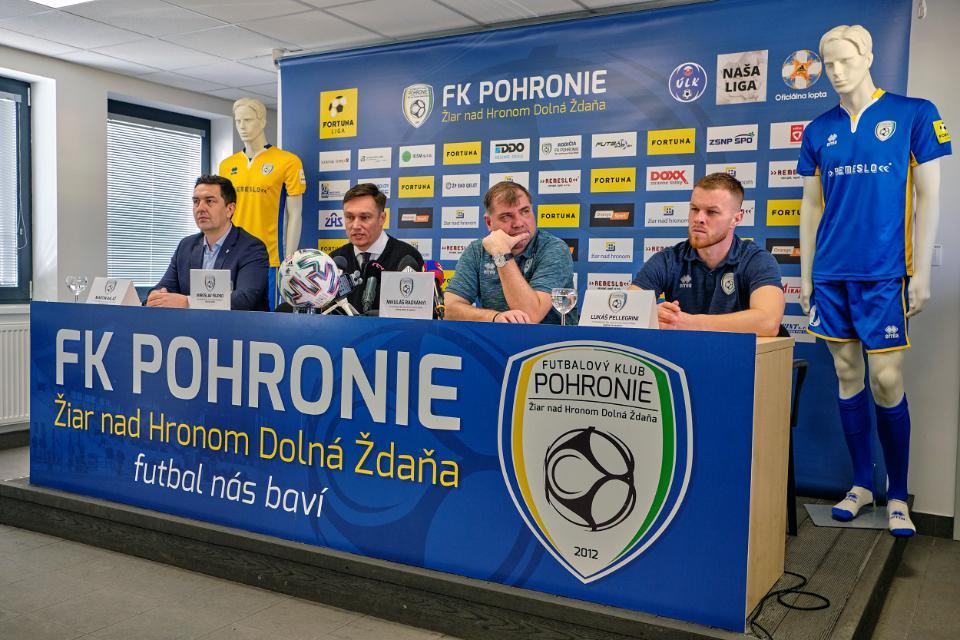 Predstavili sme mužstvo pred začiatkom jarnej časti Fortuna ligy