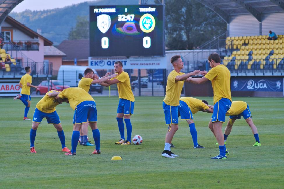 obr: Harmonogram tréningov družstiev FK Pohronie od 24.09.do 30.09.2018