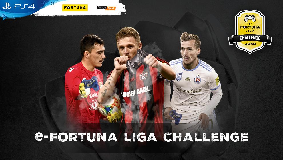 obr: Z trávnikov za Playstation, e-Fortuna liga Challenge už tento víkend
