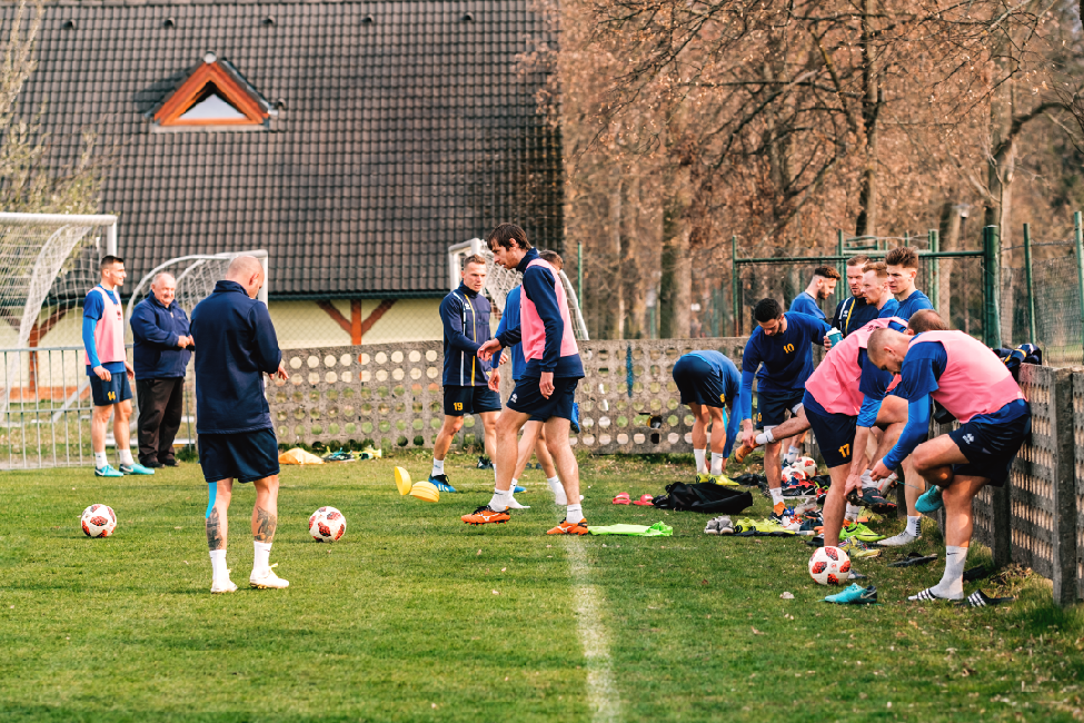 obr: Harmonogram tréningov družstiev FK Pohronie od 8.4.2019 do 14.4.2019
