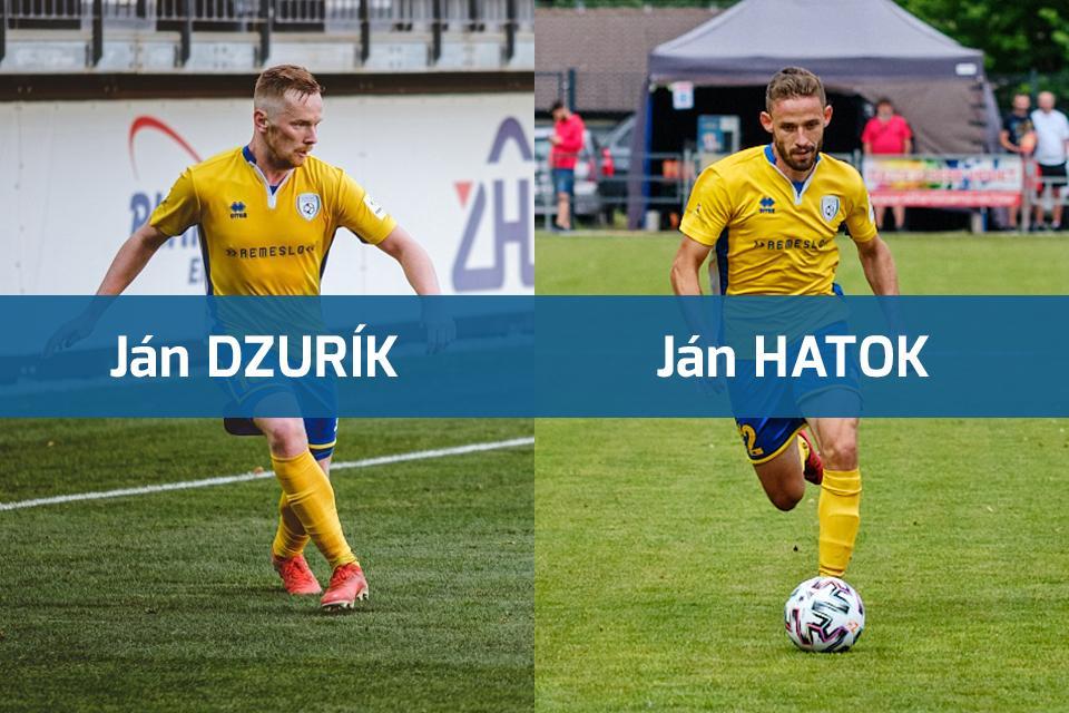 obr: Hatok a Dzurík už v nových kluboch. Chalani, ďakujeme vám za všetko!