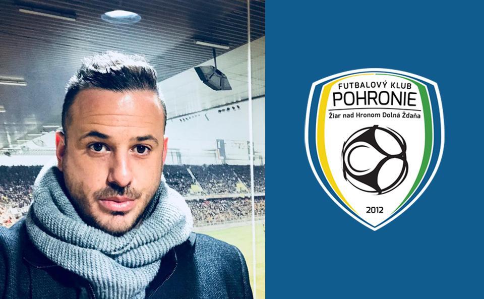 Exkluzívny rozhovor s budúcim spolumajiteľom FK Pohronie - Loïcom Favré