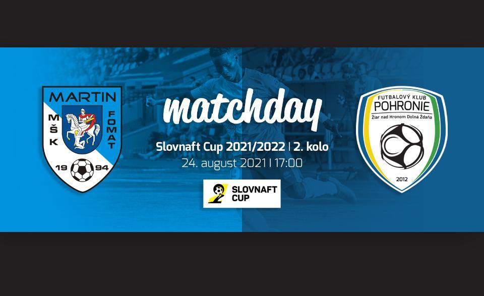 Prvé vystúpenie nášho tímu v Slovnaft Cupe už dnes