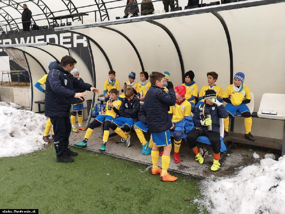 obr: U12: prípravný zápas FC Petržalka Akadémia Bratislava 20.1.2019
