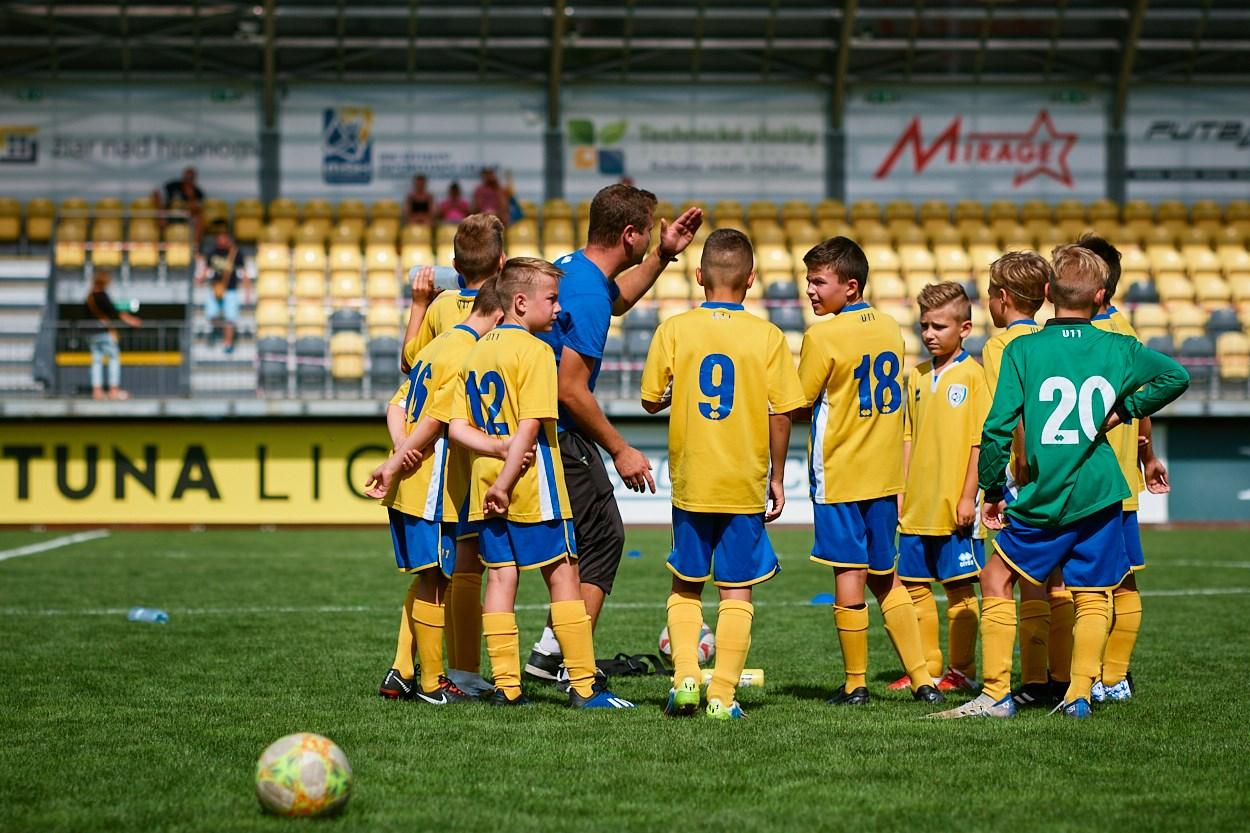 obr: Usmernenie k tréningovému procesu mládežníckych družstiev FK Pohronie počas obdobia skupinových tréningov