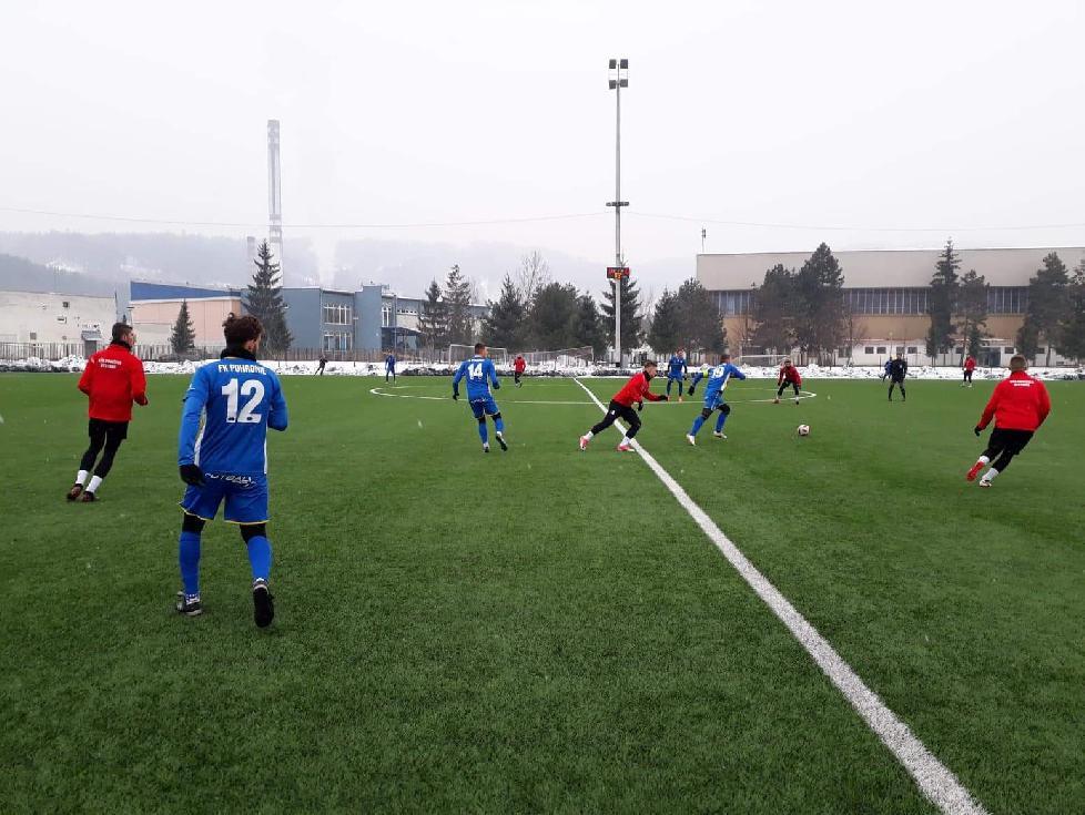obr: Prípravný zápas s Považskou Bystricou sme vyhrali 1:0