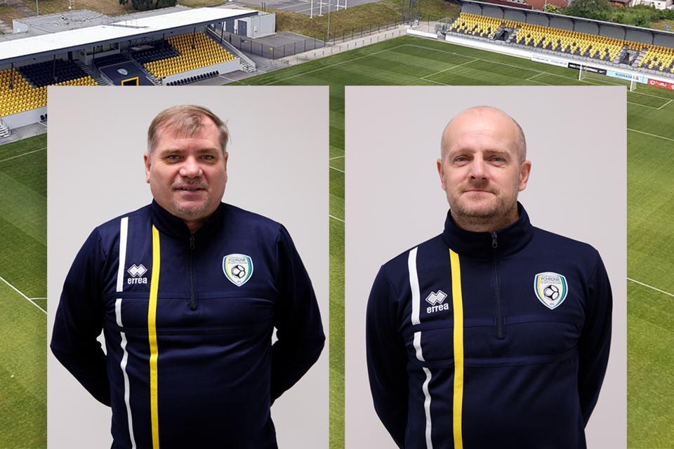 S trénerom Radványim a asistentom Pavlíkom bojujeme o ligu ďalej