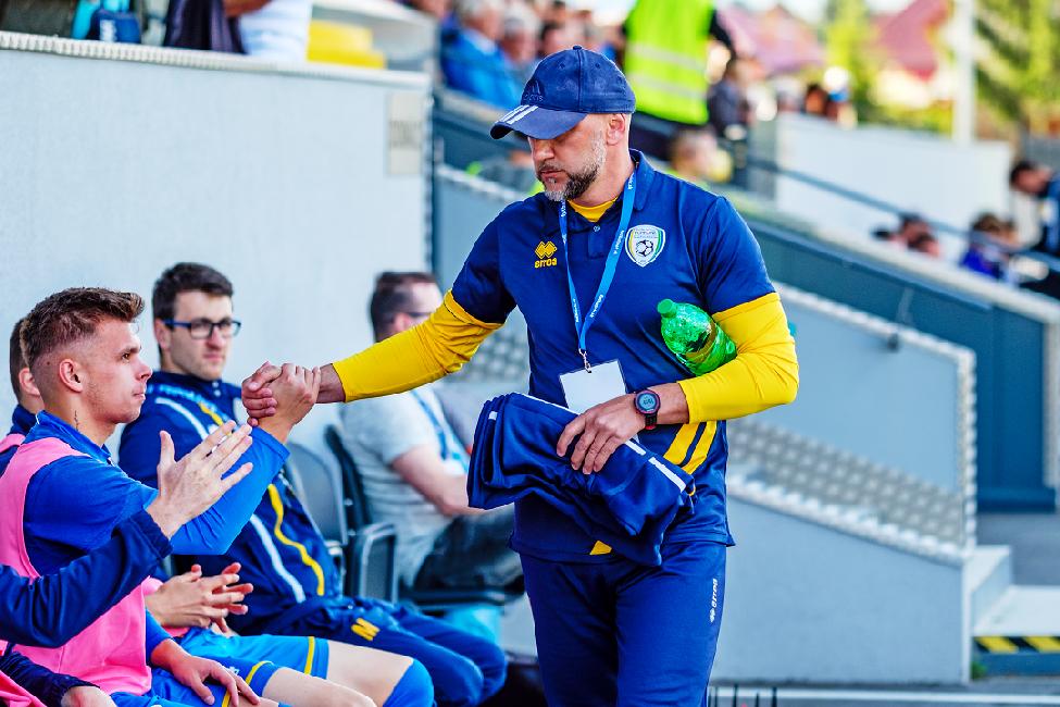 obr: Tréner Urgela pred prvým zápasom vo Fortuna lige