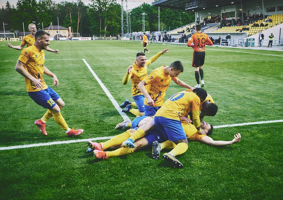 Zápas proti Ružomberku sme zvládli. Fortuna ligu si zahráme aj v budúcej sezóne!