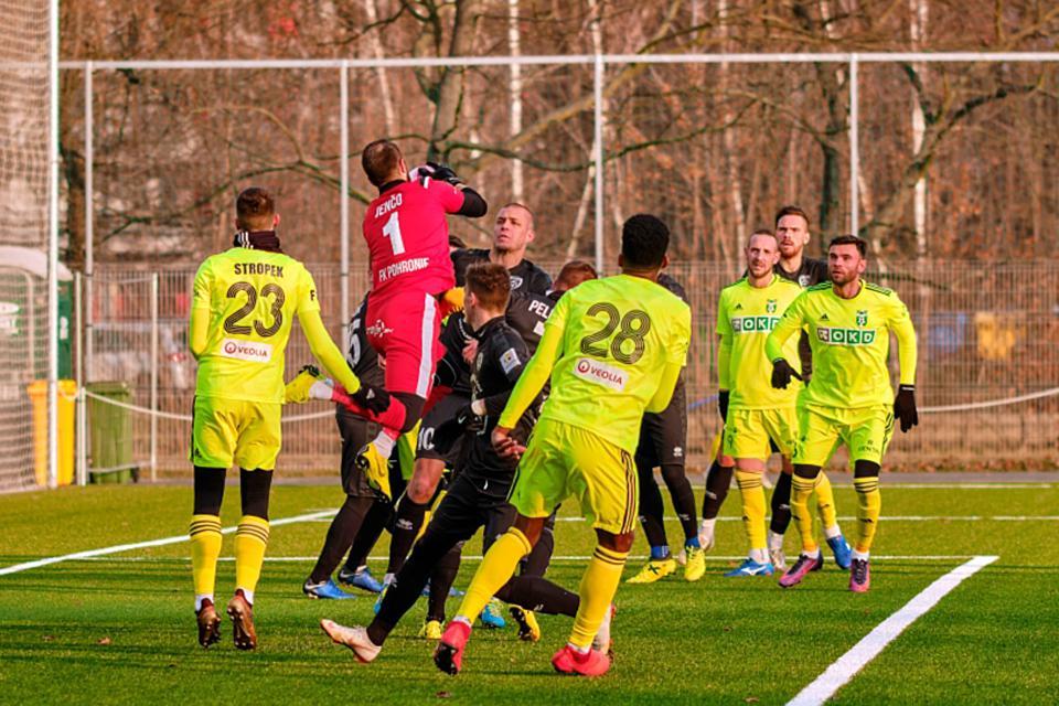 Zostrih zápasu proti MFK Karviná