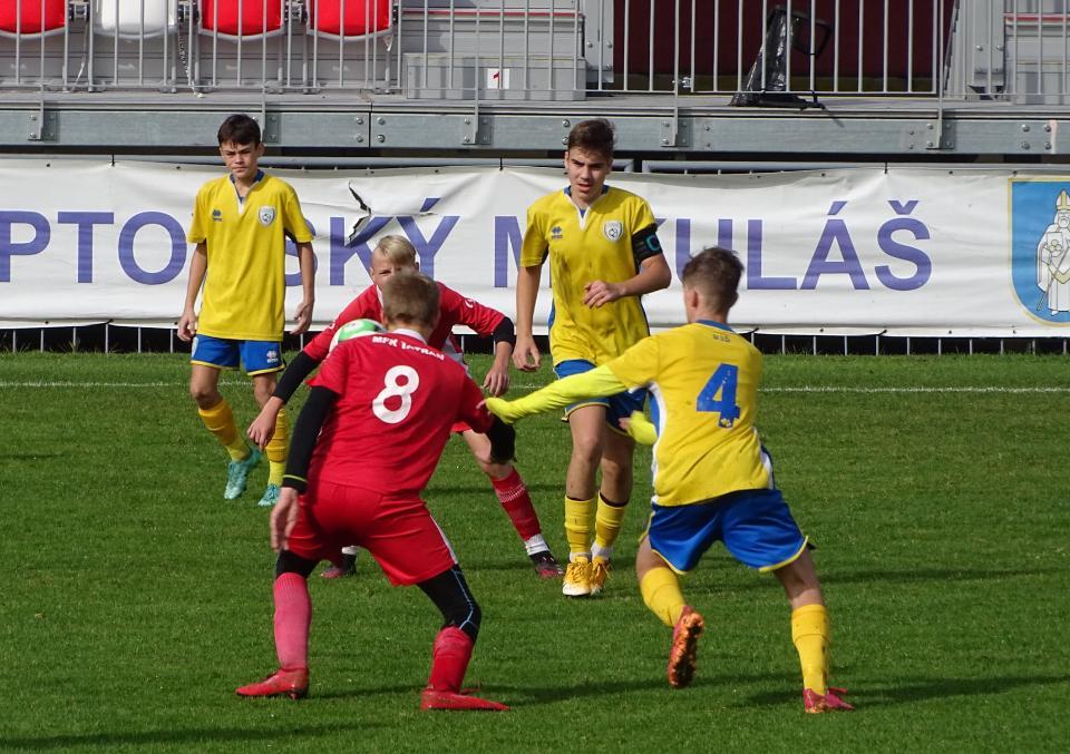 obr: Výsledkový servis mládeže: Mládežníci FK Pohronie v 39. týždni